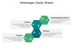 Advantages Equity Shares Ppt PowerPoint Presentation Inspiration Smartart Cpb