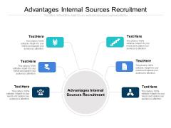 Advantages Internal Sources Recruitment Ppt PowerPoint Presentation Portfolio Deck Cpb
