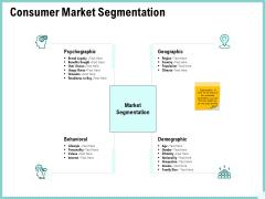 Advertisement Administration Consumer Market Segmentation Ppt Portfolio Outfit PDF