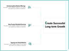 Advertisement Administration Create Successful Long Term Growth Ppt Infographic Template Themes PDF