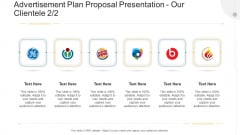 Advertisement Plan Proposal Presentation Our Clientele Needs Ppt Pictures Background Images PDF