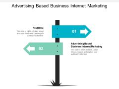Advertising Based Business Internet Marketing Ppt PowerPoint Presentation Portfolio Gridlines Cpb