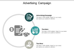 Advertising Campaign Ppt PowerPoint Presentation Model Sample Cpb