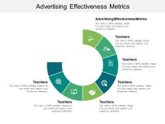 Advertising Effectiveness Metrics Ppt PowerPoint Presentation Infographic Template Infographics Cpb Pdf