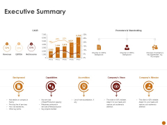 Advertising Existing Products And Services In The Target Market Executive Summary Ppt Summary Sample PDF