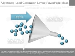Advertising Lead Generation Layout Powerpoint Ideas