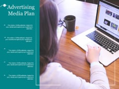 Advertising Media Plan Ppt PowerPoint Presentation Styles Show