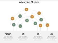 Advertising Medium Ppt PowerPoint Presentation Inspiration Professional Cpb