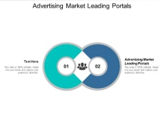 Advertising On Market Leading Portals Ppt PowerPoint Presentation Infographics Samples Cpb