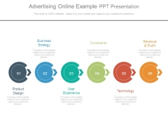 Advertising Online Example Ppt Presentation