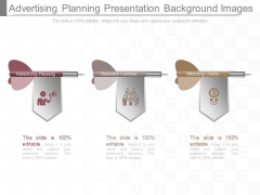 Advertising Planning Presentation Background Images