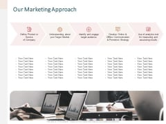 Advertising Proposal Our Marketing Approach Ppt Summary Tips PDF
