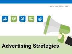 Advertising Strategies Target Analysis Ppt PowerPoint Presentation Complete Deck