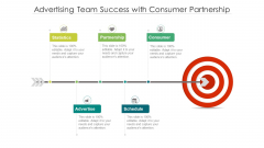 Advertising Team Success With Consumer Partnership Ppt Layouts PDF