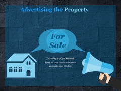 Advertising The Property Ppt PowerPoint Presentation Microsoft