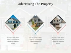 Advertising The Property Ppt PowerPoint Presentation Portfolio Aids