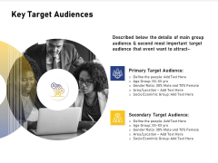 Advocacy And Marketing Campaign Request Key Target Audiences Demonstration PDF