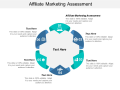 Affiliate Marketing Assessment Ppt PowerPoint Presentation Icon Graphics Example Cpb