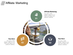 Affiliate Marketing Ppt PowerPoint Presentation Slides Structure Cpb