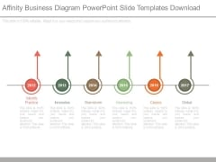 Affinity Business Diagram Powerpoint Slide Templates Download