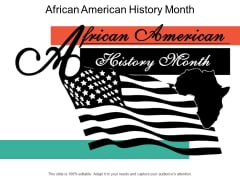 African American History Month Ppt PowerPoint Presentation Model Guidelines