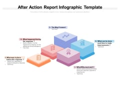 After Action Report Infographic Template Ppt PowerPoint Presentation Summary Icons PDF