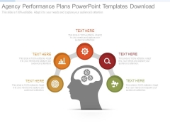 Agency Performance Plans Powerpoint Templates Download