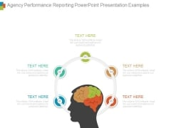 Agency Performance Reporting Powerpoint Presentation Examples
