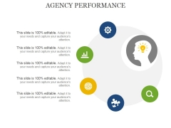 Agency Performance Template 1 Ppt PowerPoint Presentation Outline Information