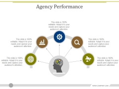 Agency Performance Template 1 Ppt PowerPoint Presentation Professional Slide Download