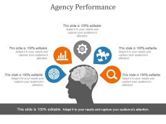Agency Performance Template 1 Ppt PowerPoint Presentation Slides