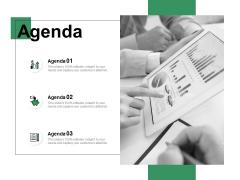 Agenda Financial Ppt PowerPoint Presentation Infographic Template Slide