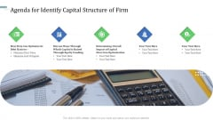 Agenda For Identify Capital Structure Of Firm Rules PDF