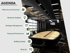 Agenda Free PowerPoint Slide