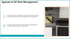 Agenda Of OP Risk Management Structure PDF