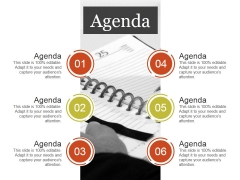 Agenda Ppt PowerPoint Presentation File Brochure