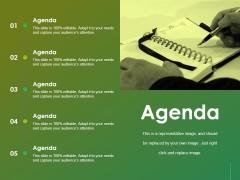 Agenda Ppt Powerpoint Presentation File Slides
