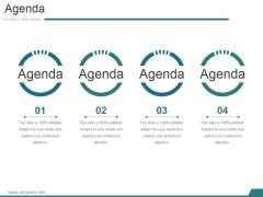 Agenda Ppt PowerPoint Presentation Gallery Microsoft