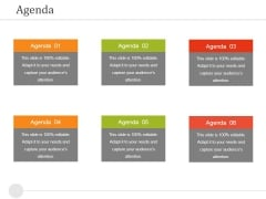 Agenda Ppt PowerPoint Presentation Gallery Visual Aids