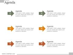Agenda Ppt PowerPoint Presentation Icon