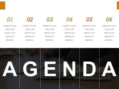 Agenda Ppt PowerPoint Presentation Infographic Template Deck