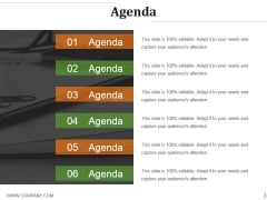 Agenda Ppt PowerPoint Presentation Infographic Template Diagrams