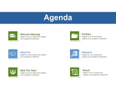 Agenda Ppt PowerPoint Presentation Infographic Template Portrait