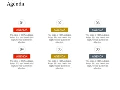 Agenda Ppt PowerPoint Presentation Infographic Template