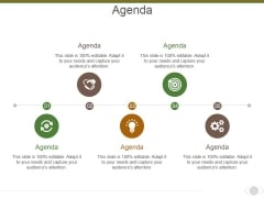 Agenda Ppt PowerPoint Presentation Infographics Themes