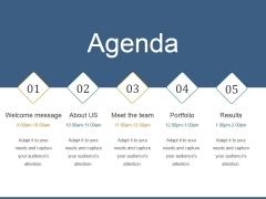 Agenda Ppt PowerPoint Presentation Inspiration Guidelines