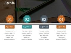 Agenda Ppt PowerPoint Presentation Inspiration Slide
