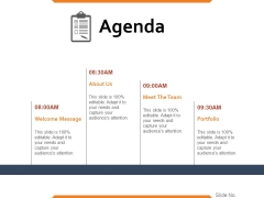 Agenda Ppt PowerPoint Presentation Pictures Brochure
