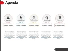Agenda Ppt PowerPoint Presentation Pictures Show