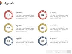 Agenda Ppt PowerPoint Presentation Slide